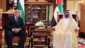 Премиерът Борисов се срещна с емира на Дубай