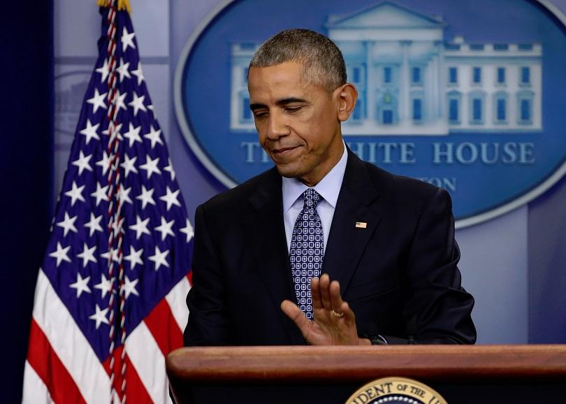 За първи път след края на мандата си, бившият американски