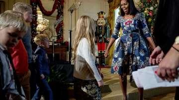 Мишел Обама показа украсата в Белия дом за последен път (СНИМКИ + ВИДЕО)