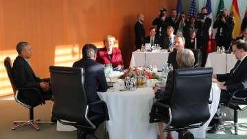 Прощална среща на Обама с европейски лидери