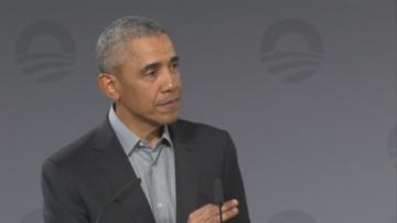Барак Обама е на посещение в Германия