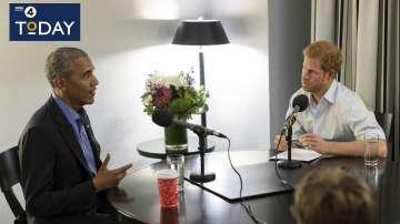Барак Обама разкри пред принц Хари музикалните и спортните си предпочитания
