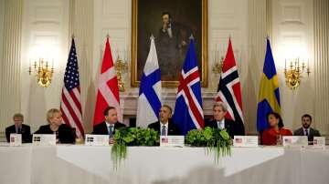Обама се срещна с лидерите на скандинавските държави