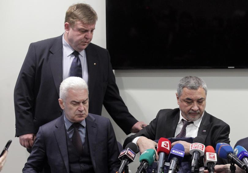 Ще се явят ли заедно на евроизборите Симеонов и Сидеров