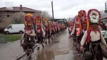 Кукерски празник в карловското село Климент
