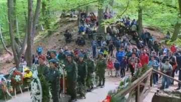 В местността Оборище отбелязаха 143 г. от Априлското въстание