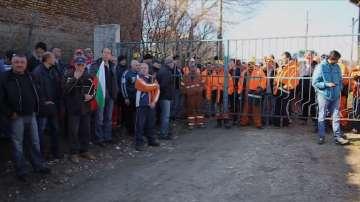 """Отново протести сред работещите в мина """"Оброчище"""