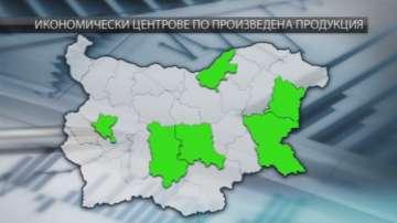 Как изглежда икономическата карта на България?