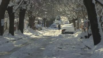 Зимната обстановка в София е спокойна