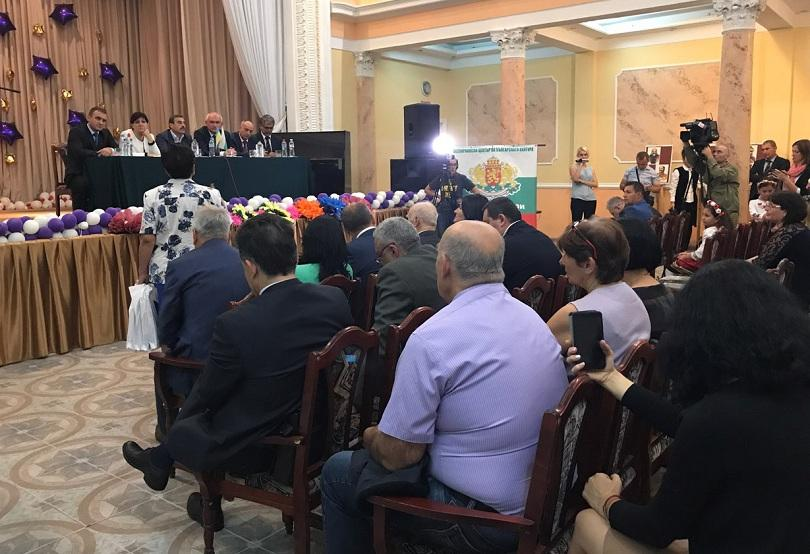 снимка 1 Българска делегация на посещение в Одеса