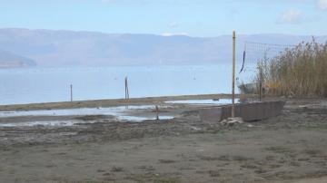 Преспанското езеро пресъхва с бързи темпове