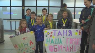 Българският отбор по математика с медали от олимпиадата в Тайланд