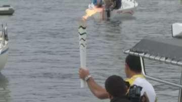 Безредици в Рио помрачиха пристигането на Олимпийския огън