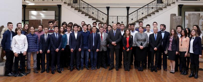 Снимка: Осма годишна среща на олимпийските отбори по природни науки