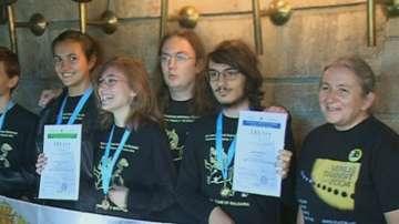 Отличия за ученици на Международната олимпиада по астрономия