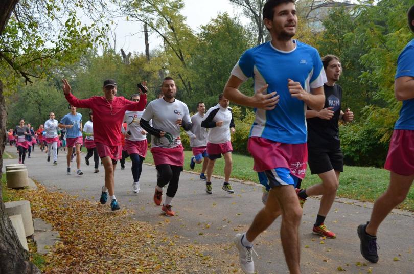 близо 600 души бягаха розови поли подкрепа болните рак гърдата