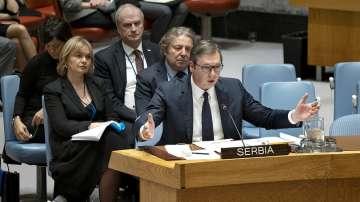 Хашим Тачи и Александър Вучич размениха остри реплики на Съвета за сигурност