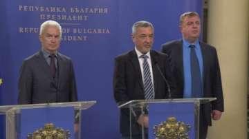 Патриотите получиха подкрепата на президента за коалиционно правителство