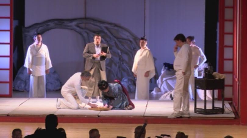 Старозагорската опера, представи в Одрин постановката