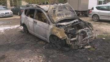Подпалиха колата на кмета на Панчарево