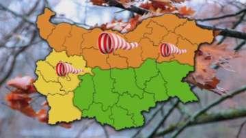 Оранжев код за силен вятър утре прогнозират синоптиците