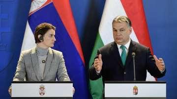Сърбия и Унгария подписаха 10 споразумения за сътрудничество