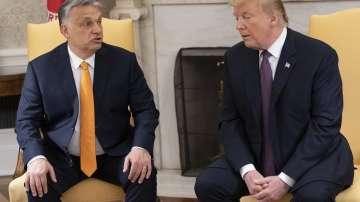 Виктор Орбан се срещна с Доналд Тръмп в Белия дом