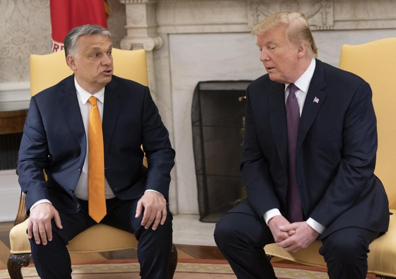 Унгарският премиер Виктор Орбан пристигна във Вашингтон за работна среща