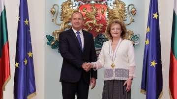 Президентът удостои посланика на Хърватия с орден Мадарски конник първа степен