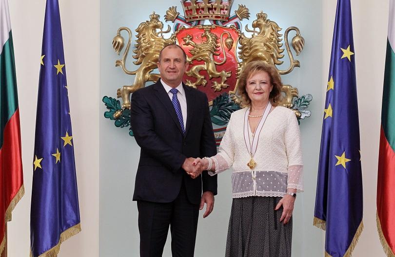 президентът удостои посланика хърватия орден мадарски конник първа степен