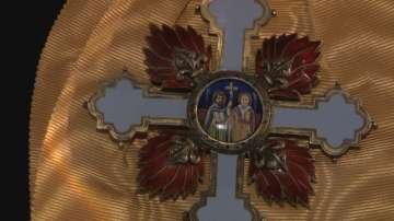 НВИМ показва огърлието Св. Св. равноапостоли Кирил и Методий