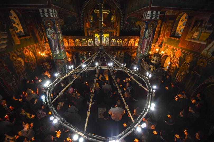 снимка 1 Православният свят отбеляза Възкресение Христово