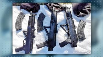 Шестима души бяха задържани край Казанлък по нова оръжейна афера