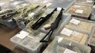 Откритото оръжие в София е достатъчно да въоръжи една или две роти