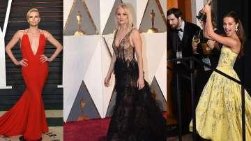 От червения килим: Най-добре облечените на наградите Оскар