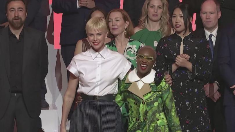 снимка 2 В навечерието на Оскар-ите номинираните се събраха на обяд