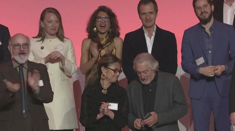 снимка 1 В навечерието на Оскар-ите номинираните се събраха на обяд