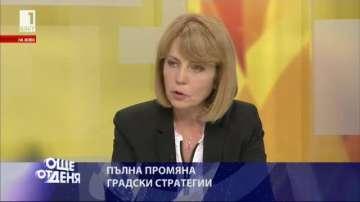 Йорданка Фандъкова: Работи се в срок навсякъде
