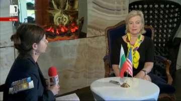 Елизабет Милард, първи зам.-помощник държавен секретар на САЩ в интервю за БНТ