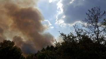 Обявено е отново бедствено положение в община Харманли заради нов горски пожар