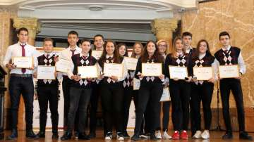 Наградиха Отличниците на България