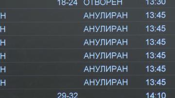 Отменени полети от София за Мюнхен и Дюселдорф заради лошото време в Европа