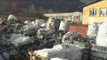 Започва проверка на 50 тона отпадъци от Италия, складирани във Враца