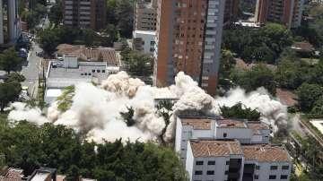 Разрушиха дома на наркобарона Пабло Ескобар