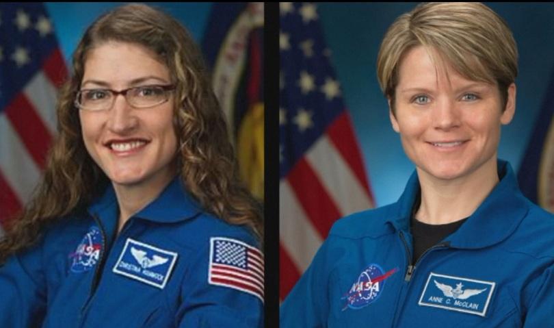 Снимка: За първи път женски екипаж ще направи космическа разходка