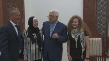 Освободиха от затвора палестинката, ударила шамари на израелски войници