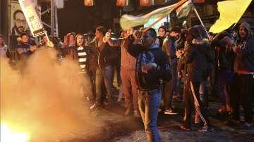 Палестинци излязоха на протест срещу решението на Тръмп за Ерусалим