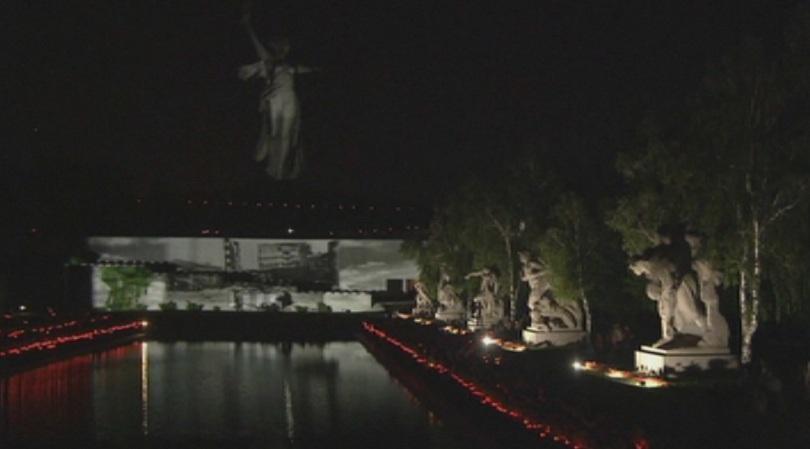 снимка 1 В Русия почитат паметта на жертвите  от войната