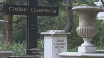 Вандали поругаха гроба на Стефан Стамболов