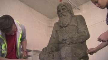 Учениците в Кунино изработват паметника на дядо Добри